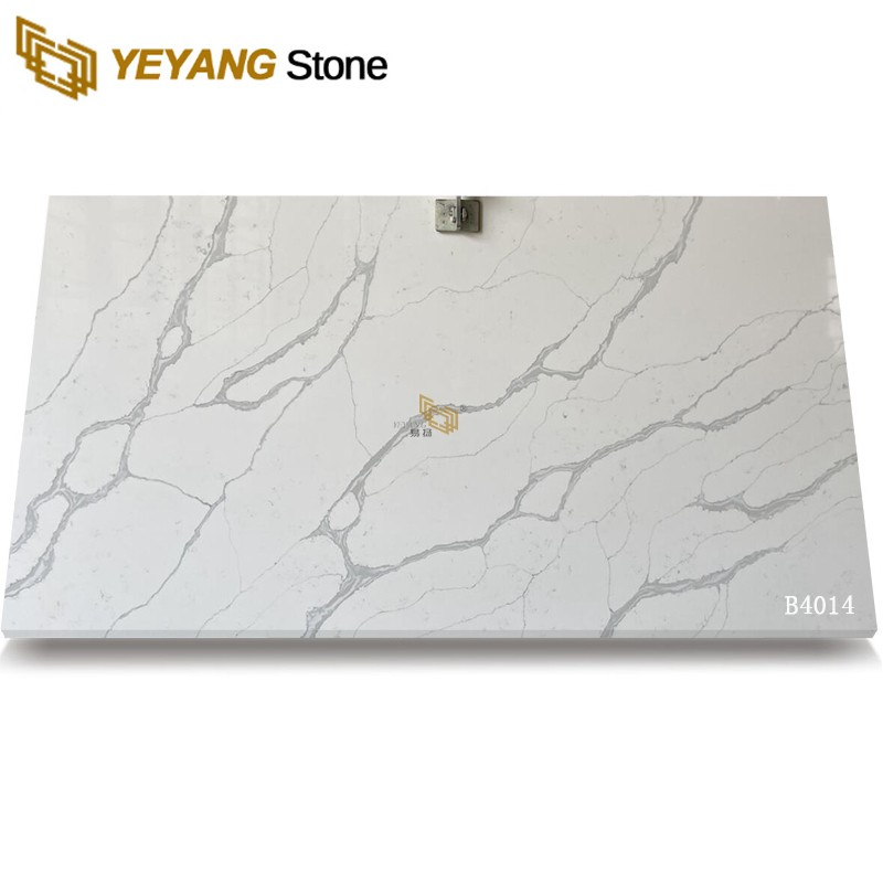 Top Sale Calacatta Quartz Best Stone Slabs For Kitchen Project