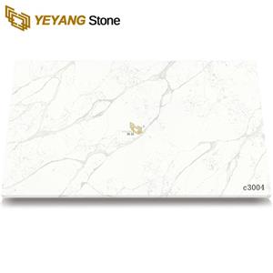 Cost Of Calacatta Quartz Slab For Kitcen Countertops