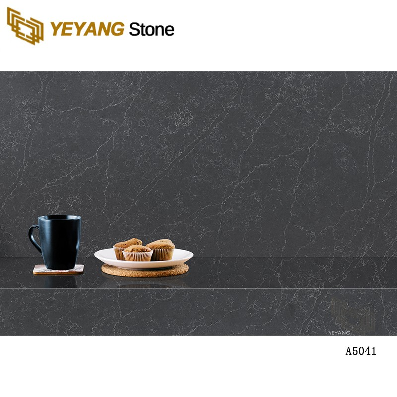Cut-To-Size Artificial Pure Synthetic Quartz Countertop