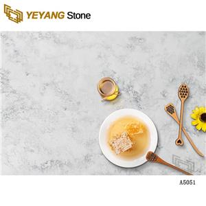 Good Price Quartz Stone Dining Table Kitchen Countertop For Hospitality And Residential