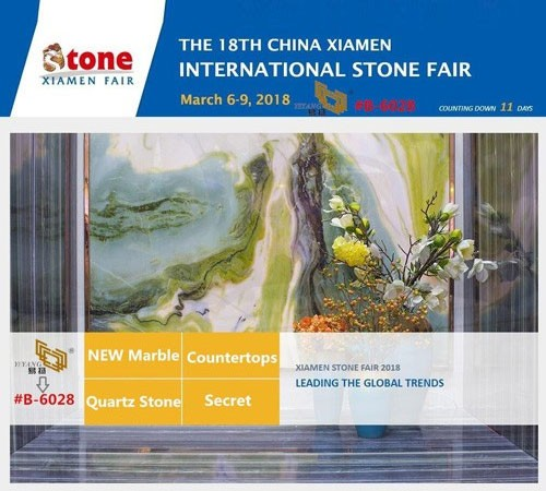 Xiamen Stone Fair March 6-9,2018, YEYANG Booth No B-6028