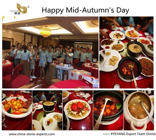 The Mid-Autumn Festival With Mooncake Gambling And Dinner Activities From YEYANG Stone