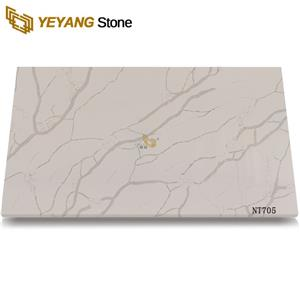 Order Beautiful Quartz Stone Slabs Solid Surface Bathroom Vanity Top
