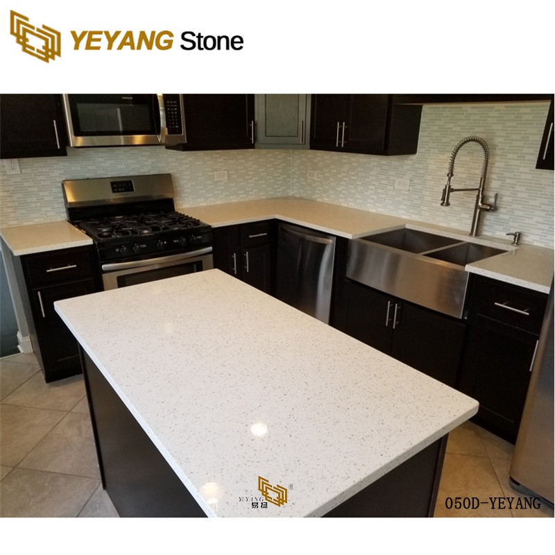 Kitchen Quartz Countertops Engineered Stone Table Tops