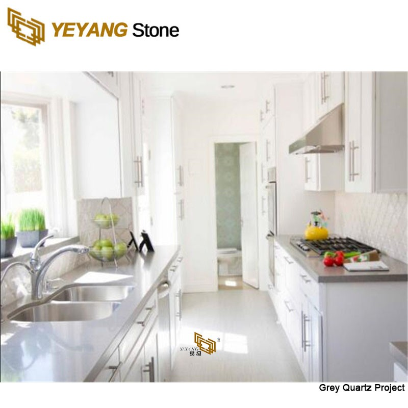 High Quality Building Material Stone Floor Tile Light Grey Projects