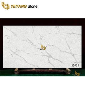 Hotel Project Faux Quartz Slab Tiles Kitchen Countertop White Benchtop Counter Top Faux Stone Table Tops