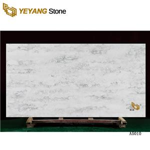 Best Polished White Artificial Quartz Stone Kitchen Countertops