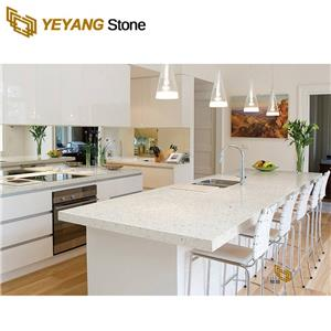 Engineered White Quartz Stone Vanity Tops