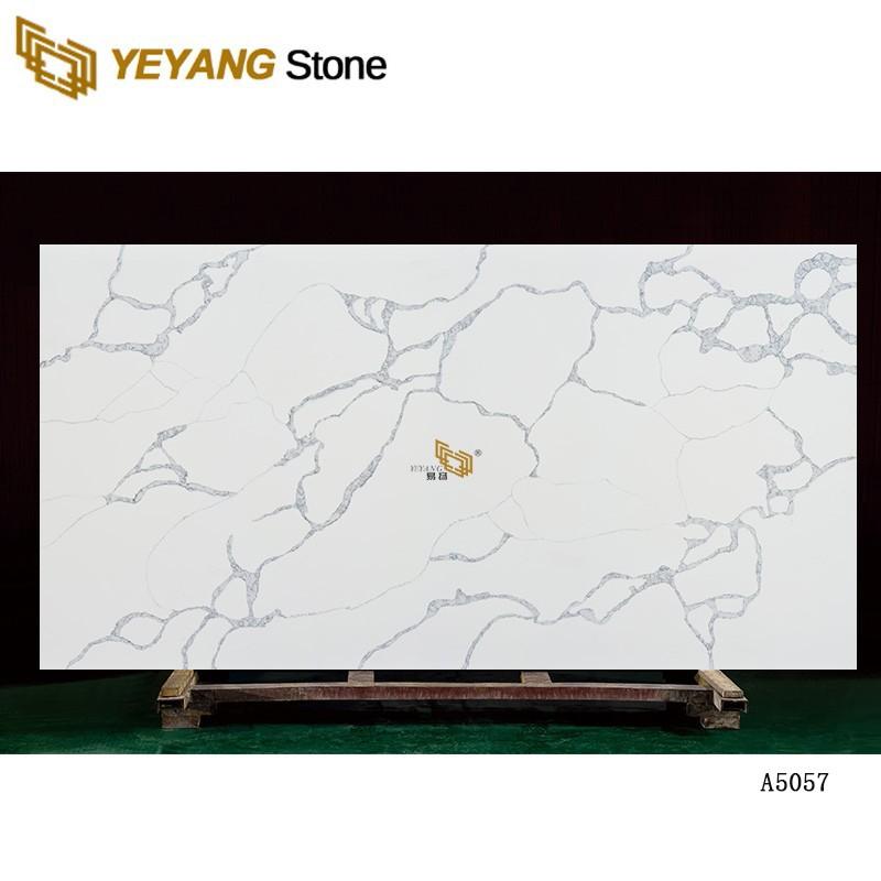 Hot Sale Big Size Artificial Solid Surface High Quality Quartz Stone