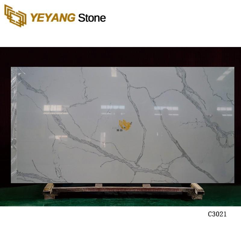 Quartz Stone Kitchen Glitter Countertops C3012