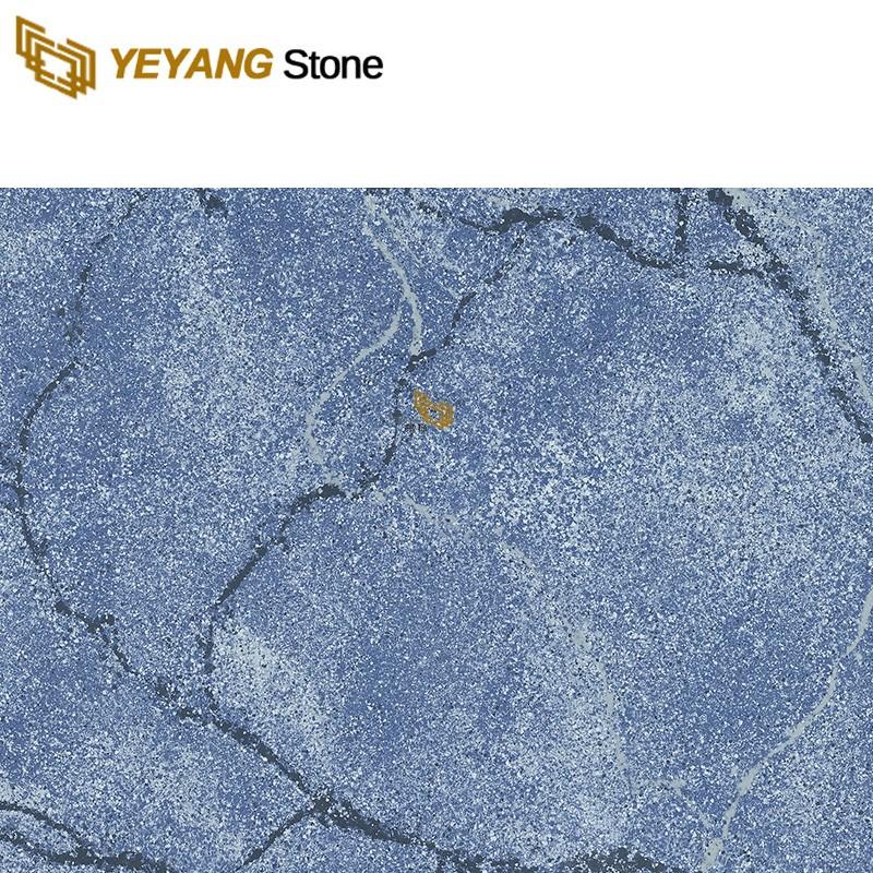 Brands Blue Quartz Floor Tiles Wall Mosaic Materials For Hotel Project