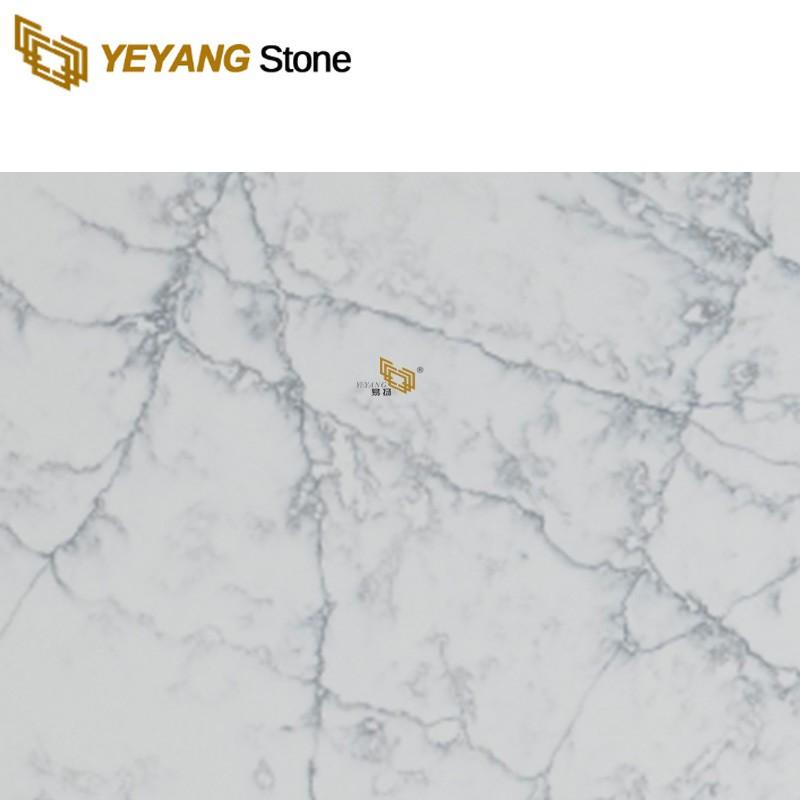 Quartz Porcelain Vein Man-Made Stone Slabs Worktop Materials Factory