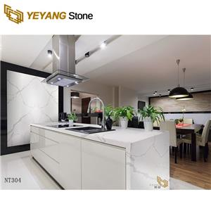High Quality White Sparkle Quartz Stone Countertop for Kitchen and Bathroom