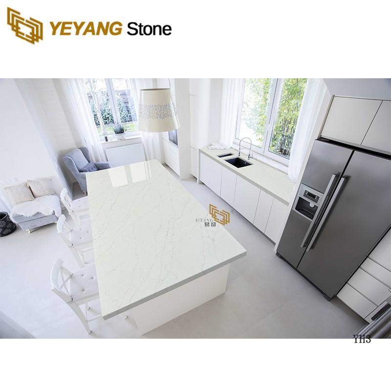 Wholesale Natural Stone Slab Quartz Countertops for Kitchen Bathroom Project -yh3