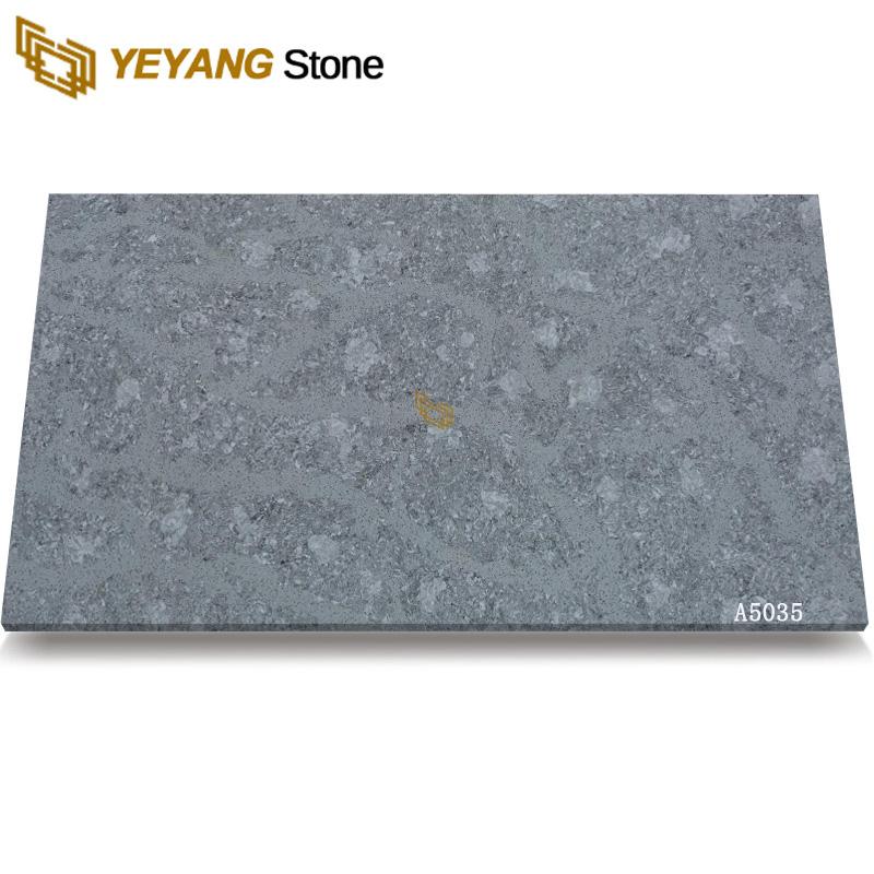 Artificial Engineered Stone Quartz Slab A5035