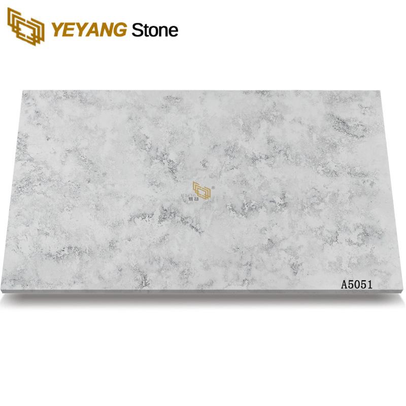 Grey Modern Artificial Stone Counter Top Quartz Big Slabs A5051 Manufacturers, Grey Modern Artificial Stone Counter Top Quartz Big Slabs A5051 Factory, Supply Grey Modern Artificial Stone Counter Top Quartz Big Slabs A5051