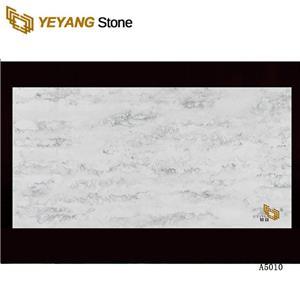 Best Polished White Artificial Quartz Stone Kitchen Countertops