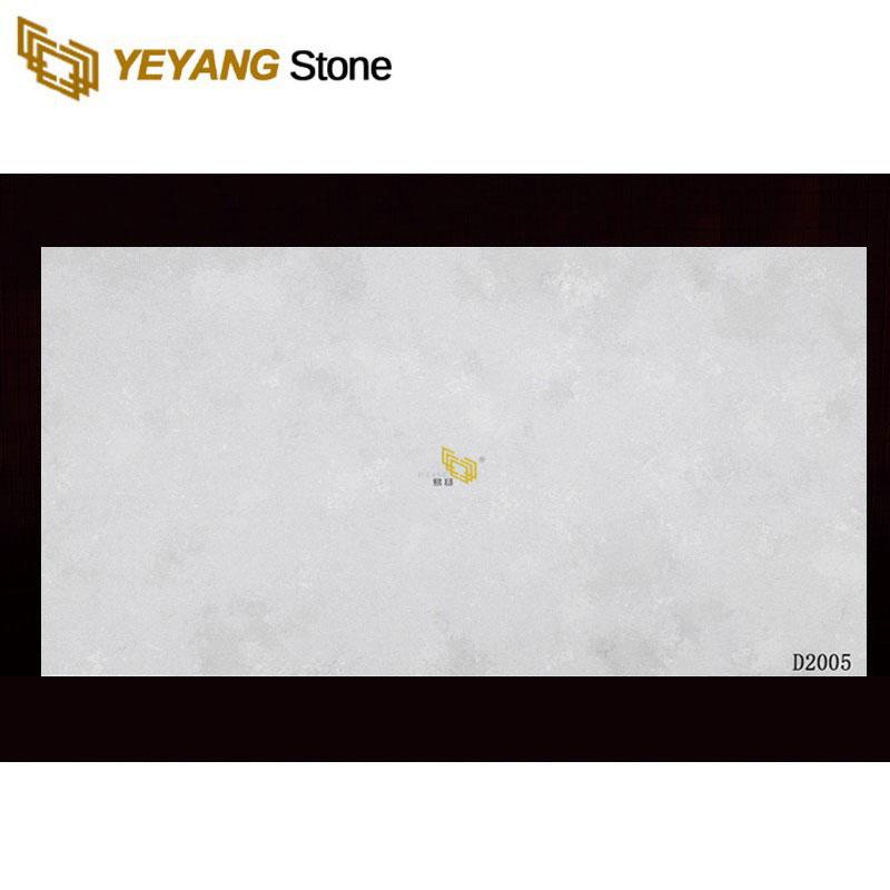 Best Sale Artificial Multiple Color Grey Quartz Stone Slab For Countertops