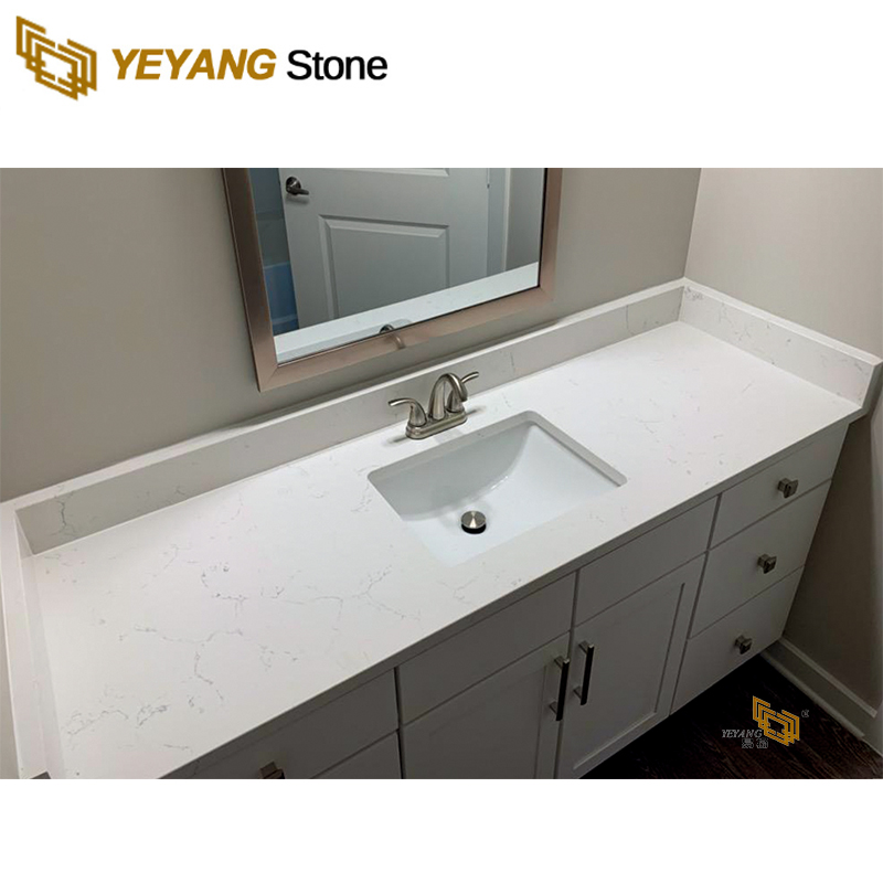 White Quartz Bathroom Countertops Bathroom Vanity Top Wholesale