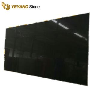 Cheap Artificial Stone Black Quartz Stone Slabs Countertop For Sale