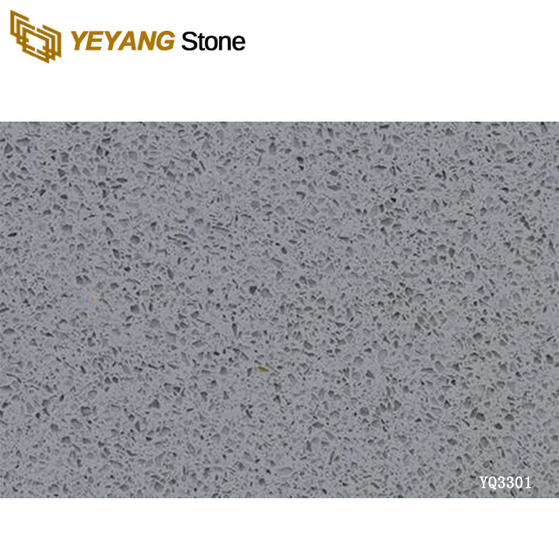 Supply grey quartz floor tiles artificial stone tiles 600X600