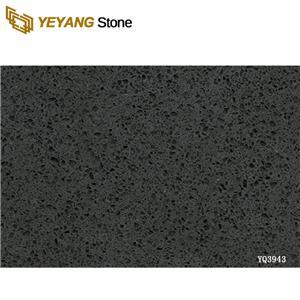 Black Quartz Dark Color Quartz Slab Wall Tiles Bathroom Vanity top At Good Price