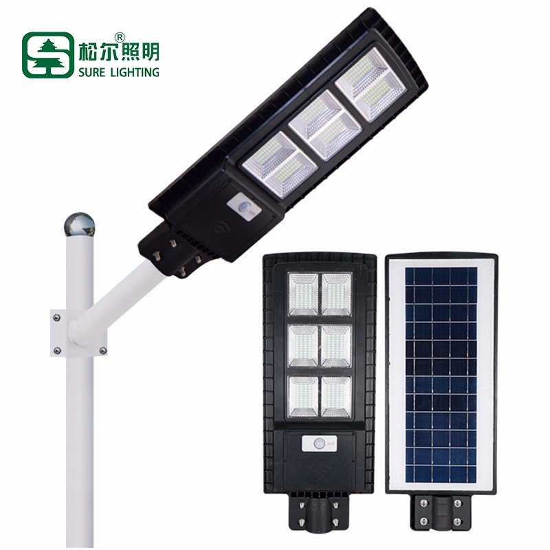 All In One Integrated 30w 60w 90w Solar Led Street Light