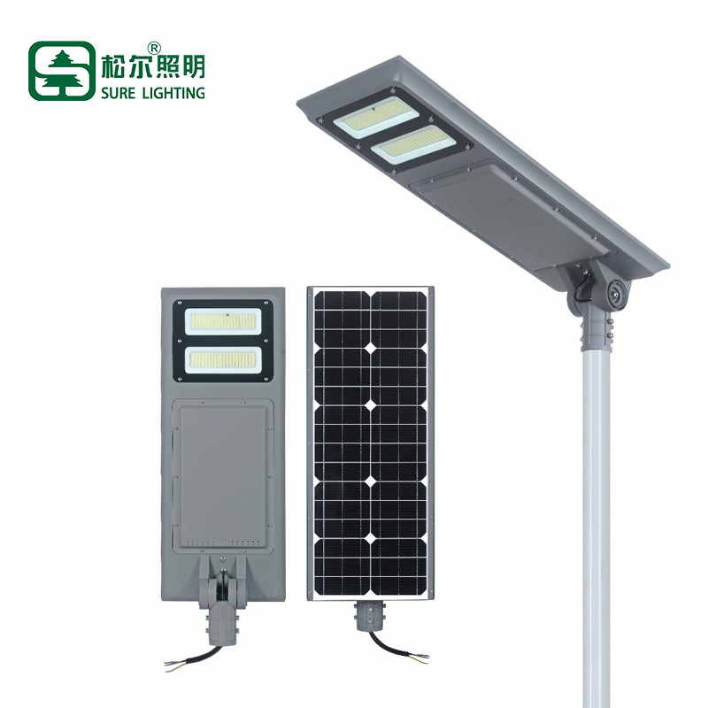 Outdoor 100w Intergrated Smd All In One Solar Led Street Light