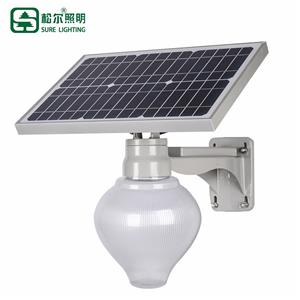 15w High Lumen Bridgelux Ip65 Fixtures Led Solar Street Light
