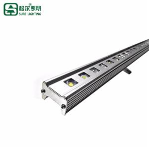 Modern Outdoor Ip66 Waterproof Slim 12W Led Linear Lamp