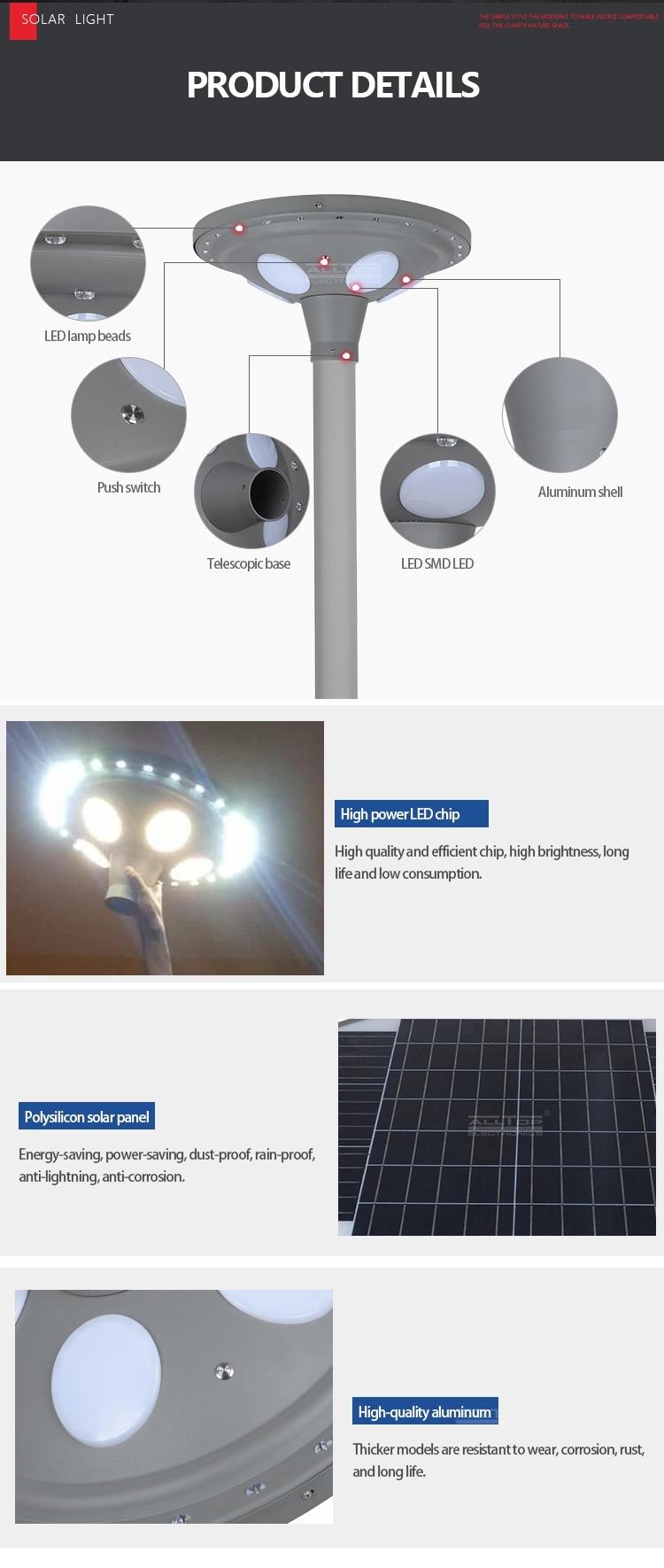 moved solar garden light