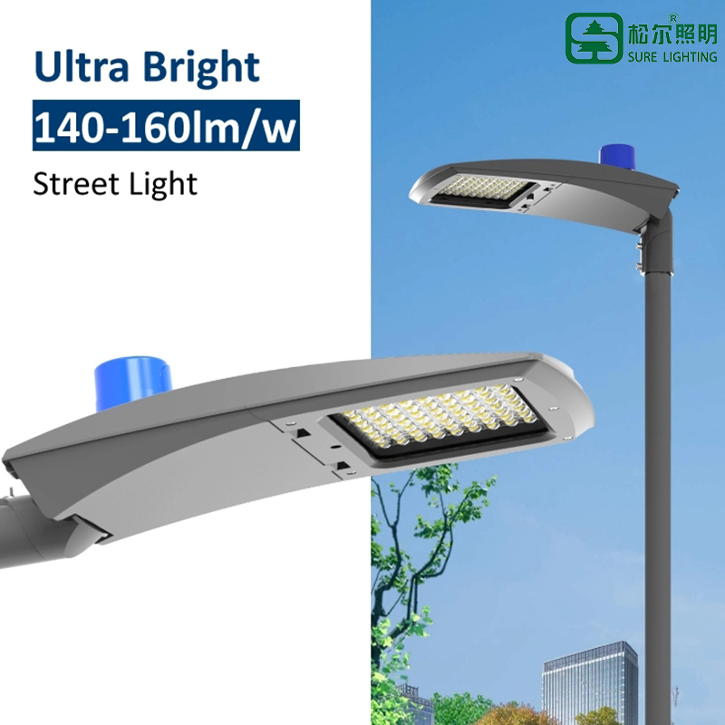 Led street light with photocell option