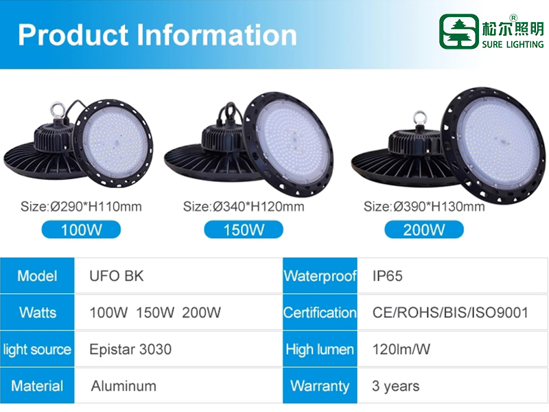 150w led shop lights