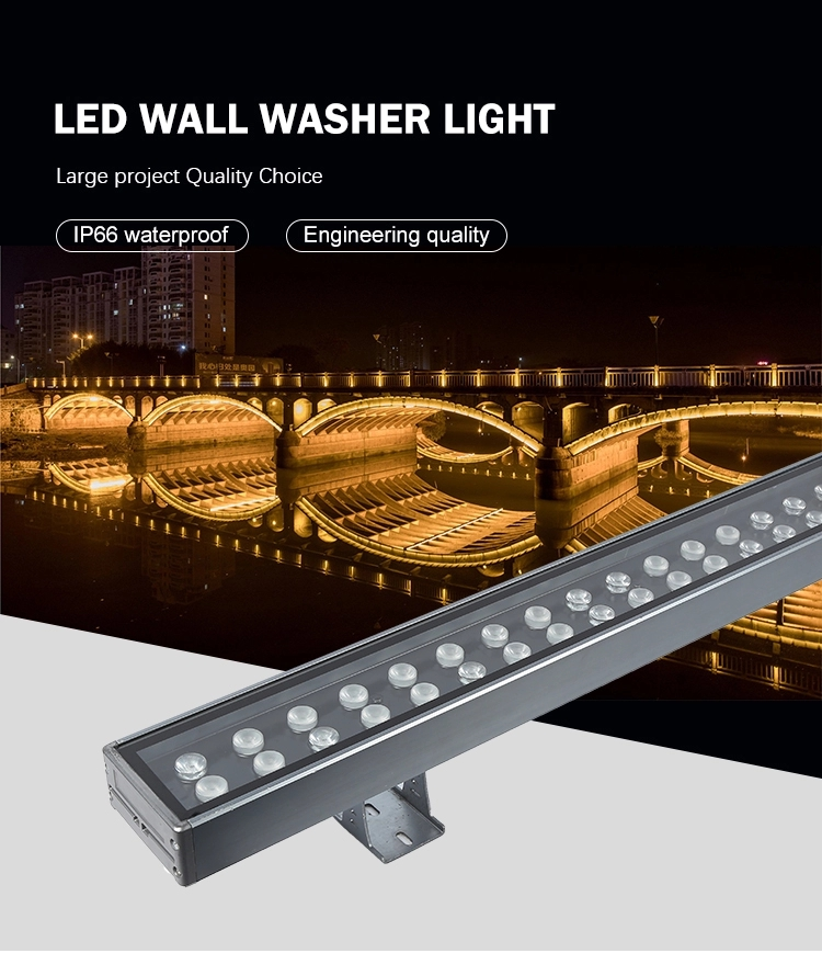 led wall washer light 72w