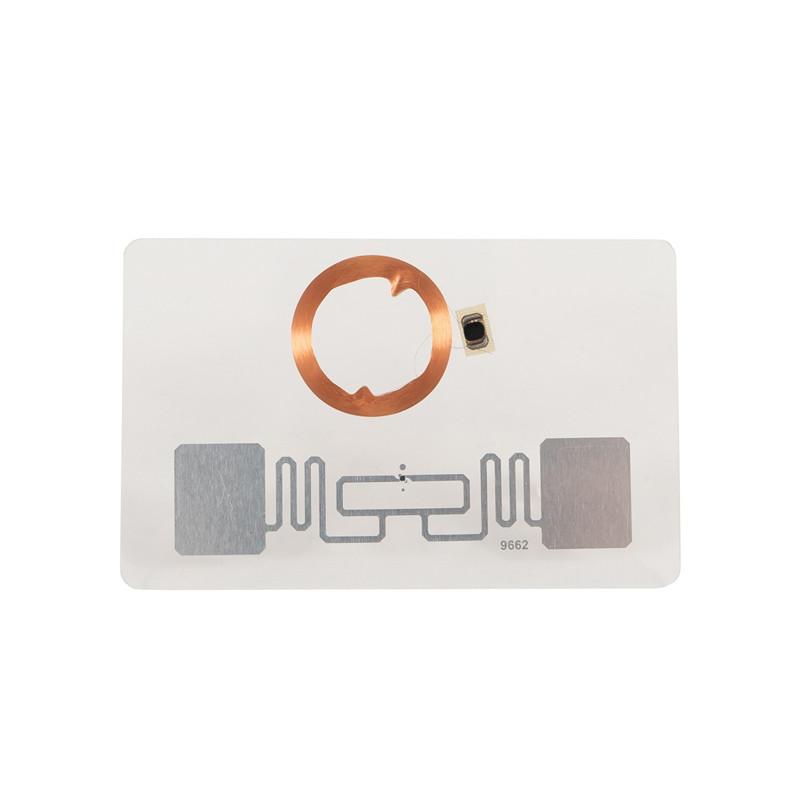 RFID Dual Chip Card UHF+13.56MHZ Mifare 1k