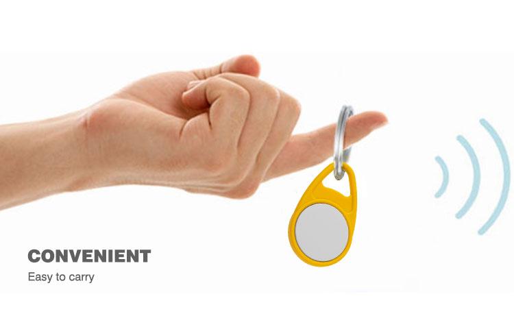 silicon RFID keyfob