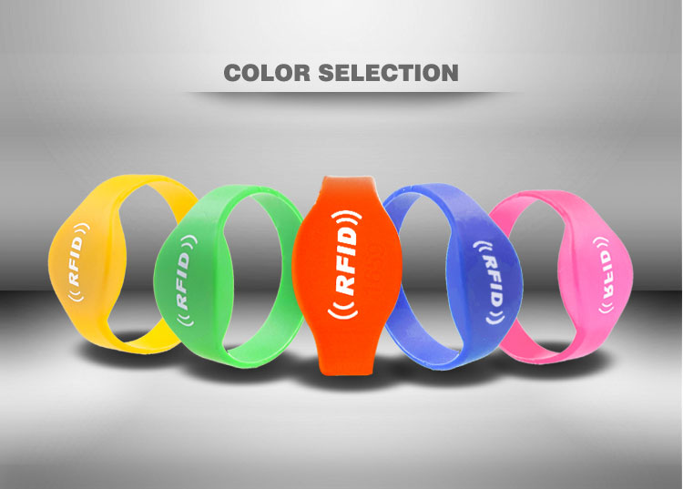 silicon rfid bracelet