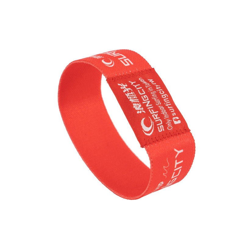 RFID Elastic Wristband for club and event festival