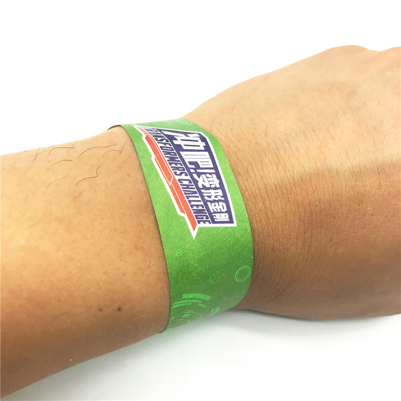 PP pp synthetic paper disposable RFID Wristband