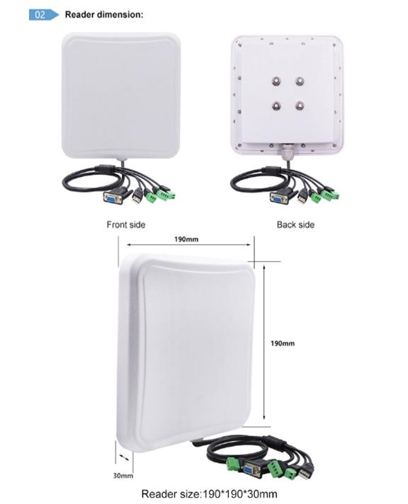 UHF Middle range RFID reader