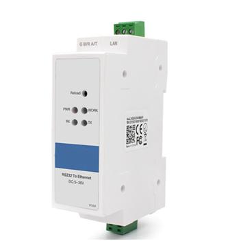 Din Rail serial to Ethernet Converter