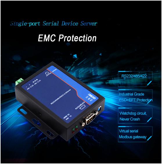 rs232 ethernet converter