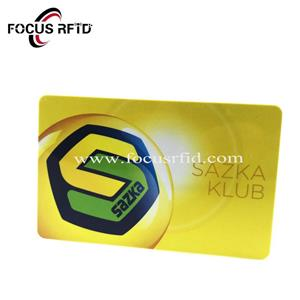 13.56Mhz Mifare 1K Compatible FM1108 Printing Card