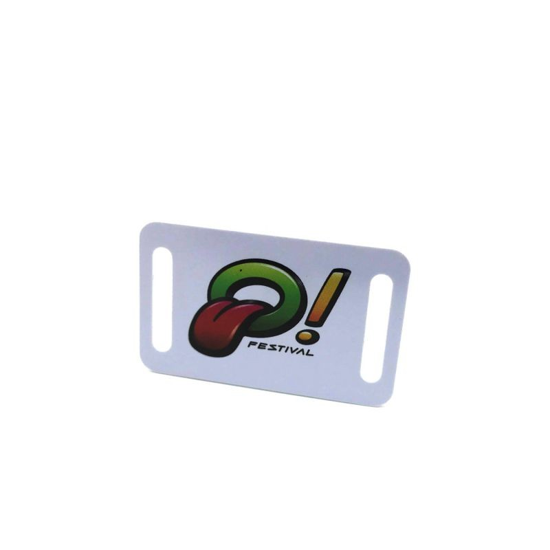 Custom shape rfid card