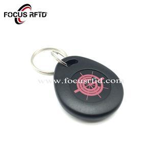 RFID ABS Key Fob with Logo printed