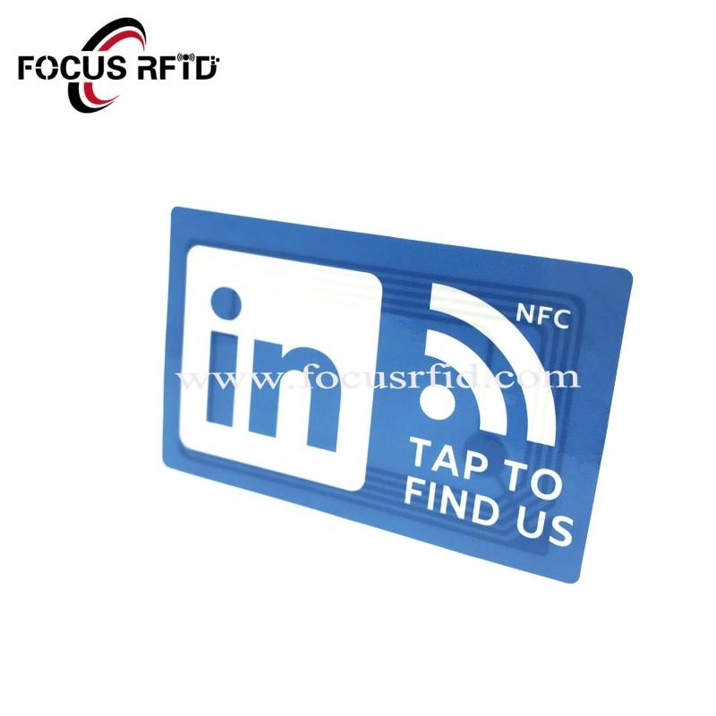 NFC Tag for social media