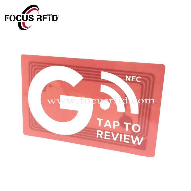 PET/PVC material NFC sticker
