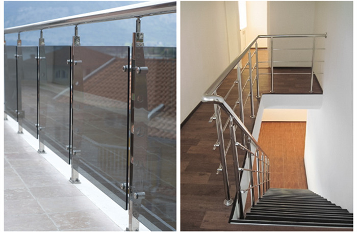 interior stainless steel stair railings