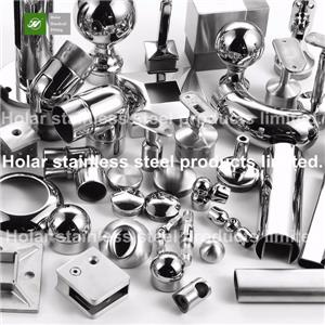 Stainless Steel Handrail Accessories For Stairs