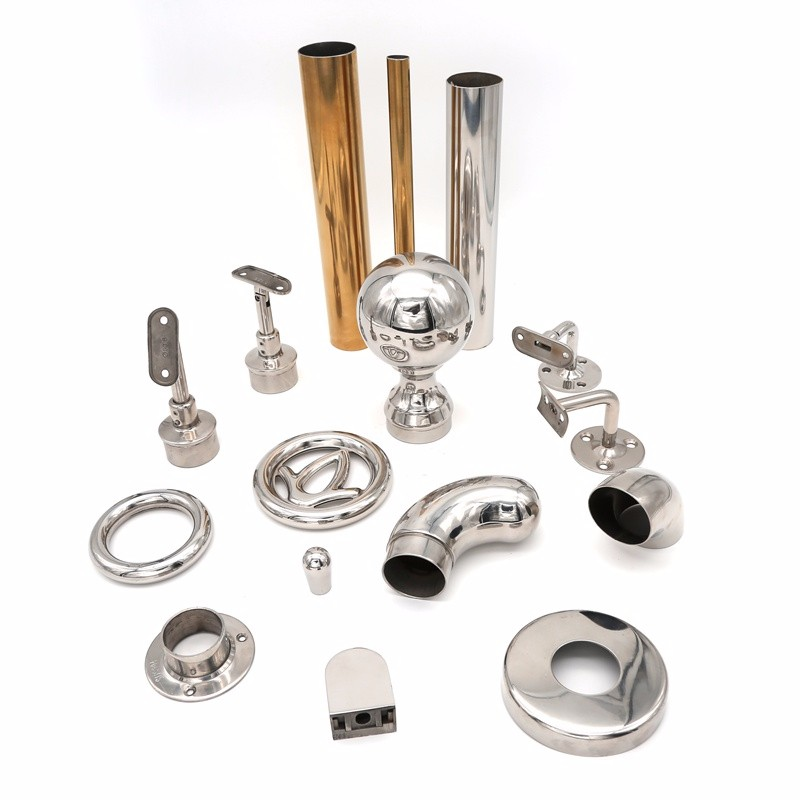 Interior Stainless Steel Stair Pipe Railings Fittings Manufacturers, Interior Stainless Steel Stair Pipe Railings Fittings Factory, Supply Interior Stainless Steel Stair Pipe Railings Fittings
